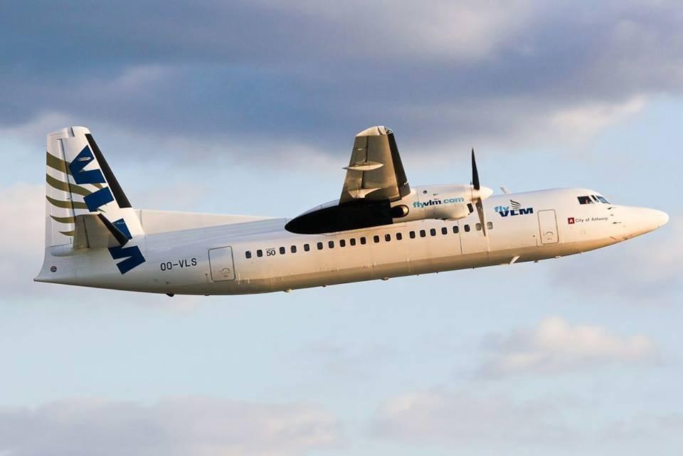 VLM Airlines ook vanaf Luik