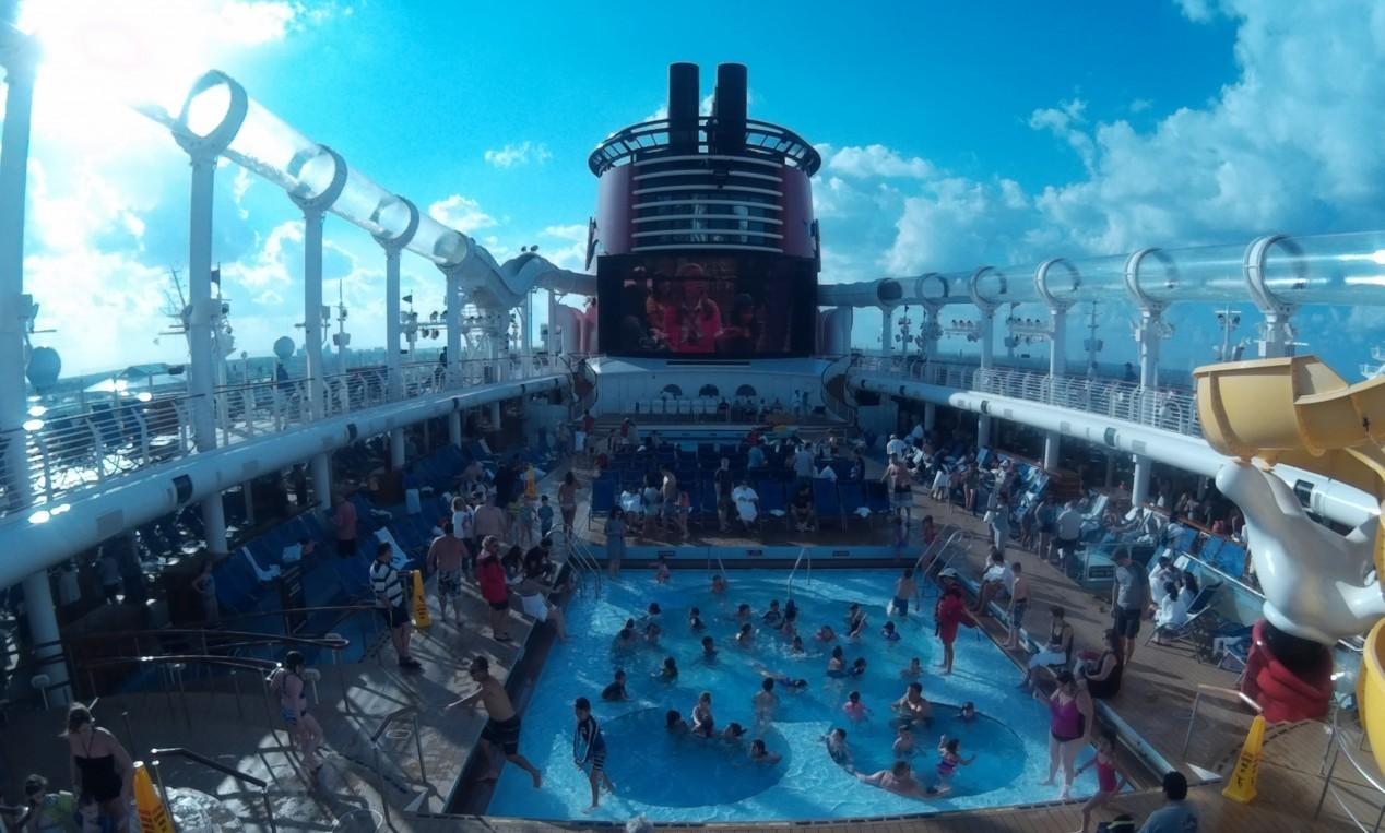 Mooie GoPro-beelden vanuit AquaDuck (Disney Cruise Line)