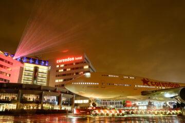 Foto's & video's: Corendon wereldnieuws met Boeing 747 in hoteltuin