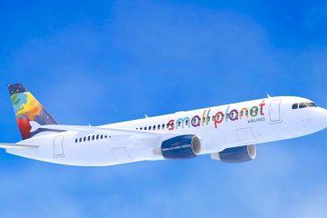 Surceance van betaling voor Small Planet Airlines: vluchten worden volgens schema voortgezet