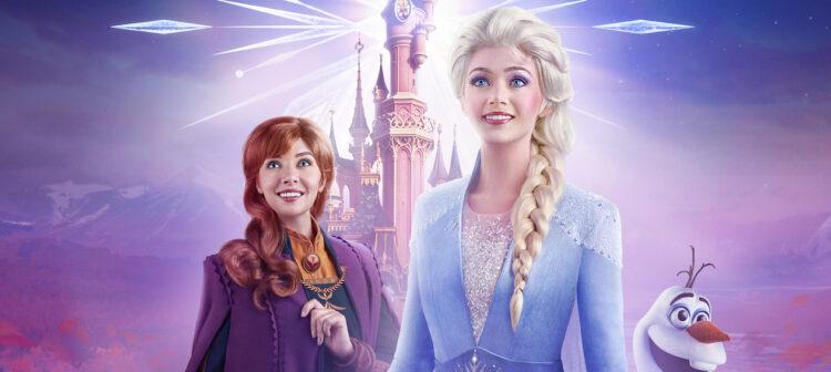 Frozen Celebration in Disneyland Paris