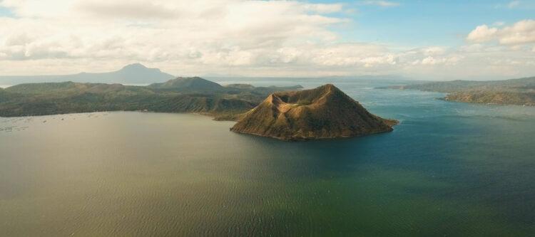 Archiefbeeld: Vulkaan Taal op de Filipijnen