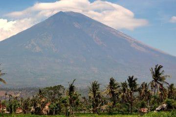 Waarschuwingsniveau Mount Agung (Bali) verlaagd