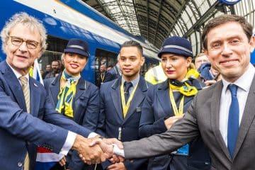 Video - Historisch: Eurostar vliegensvlug van Londen naar Amsterdam