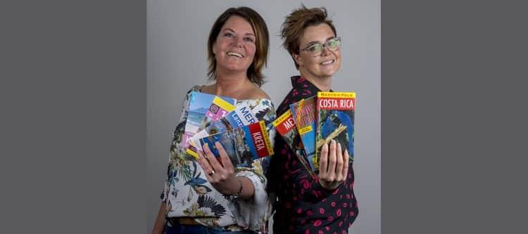 Cindy van Hegelsom en Linda Korsten uit Helden