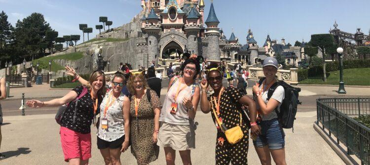 Disney Stars Reporters in actie