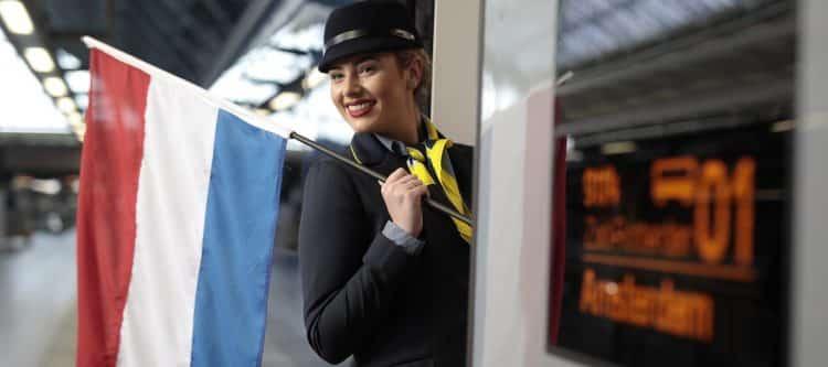 Eurostar: eerste reizigers rechtstreeks van Londen naar Amsterdam