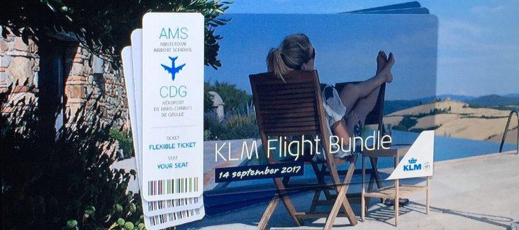 KLM presenteert Flight Bundle