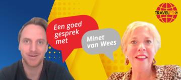 In de tweede aflevering van 'Een goed gesprek met…' spreekt Arjen Lutgendorff (Hoofdredacteur TravelPro) met Minet van Wees (TravelXL Leersum).
