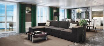 Regent Seven Seas Cruises onthult suite-details van Seven Seas Splendor
