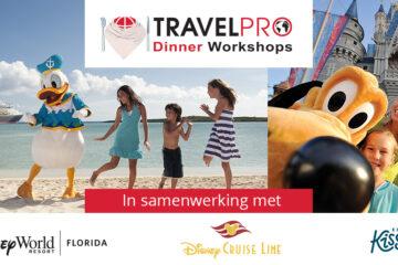 Kom ook naar de magische TravelPro Dinner Workshops!