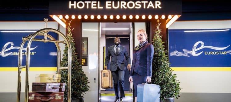 Eurostar lanceert een aanbod met hotels
