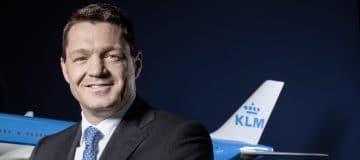 Steun hier KLM-topman Pieter Elbers