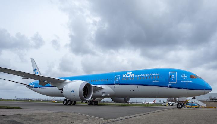 Video eerste landing KLM Boeing 787 Dreamliner