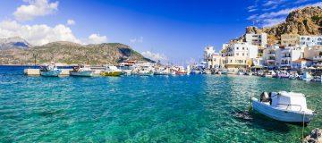 18 mei wordt er meer duidelijk over de heropening van de Griekse eilanden. Op de foto: Karpathos.