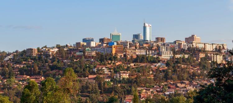 RwandAir start vlucht: Brussel - Kigali