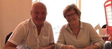 Leo van der hoeven en Marianne Vissinga