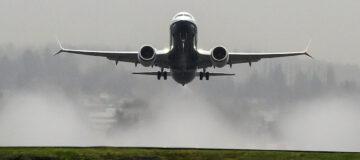 Noodlanding Boeing 737 MAX na motorprobleem