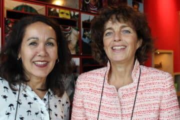 Monique Peereland en Hetty Grote