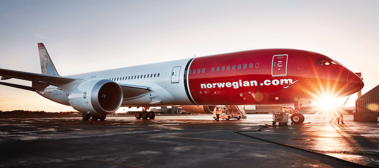 Norwegian lanceert low cost route amsterdam new york for Case low cost amsterdam