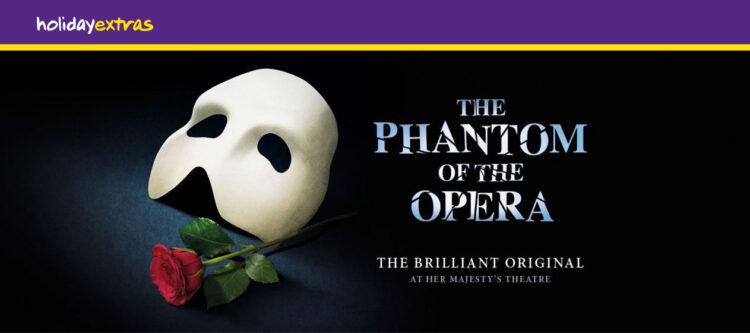 Win! Ga met Holiday Extras naar de Phantom of the Opera in Londen