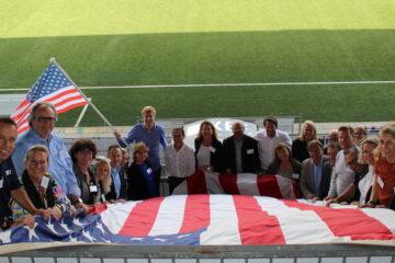 Visit USA koos voor unieke locaties voor hun roadshows. Gisteren was het de beurt aan Den Bosch en werd het event gehouden bij FC Den Bosch.