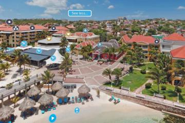 Avila Beach Hotel lanceert 360-viruele tours van Curaçao en hotel