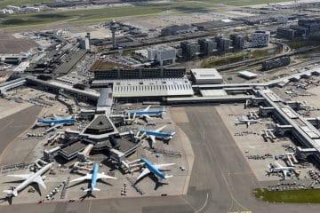 Recordaantal passagiers Schiphol in 2018: airport wil 's werelds duurzaamste worden