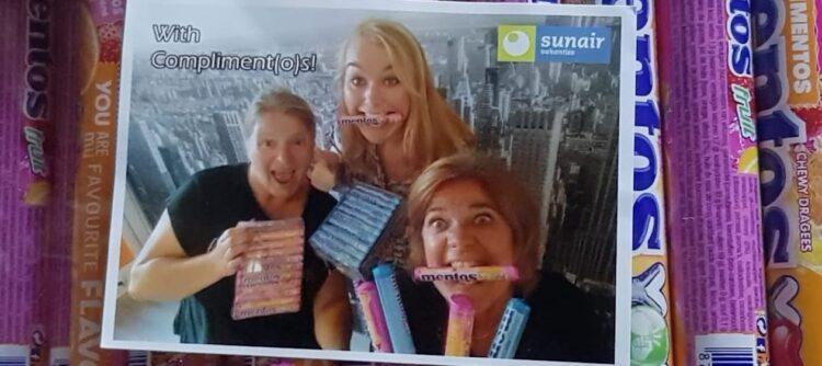 Marja Bouwmeester, Hindrika de Vries en Linda Andeweg (Sales Sunair Vakanties)