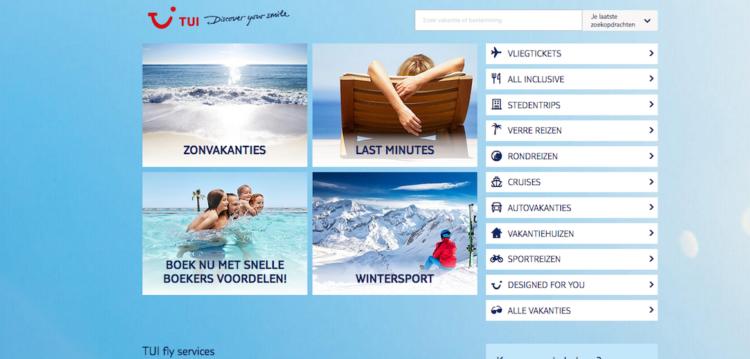 TUI.nl voor zesde jaar op rij verkozen tot populairste reiswebsite