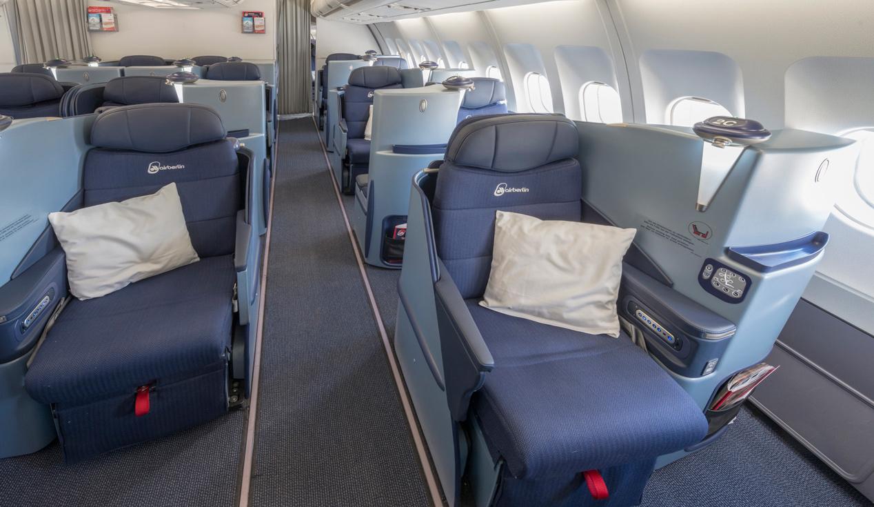 Airberlin veilt Business Class-upgrades