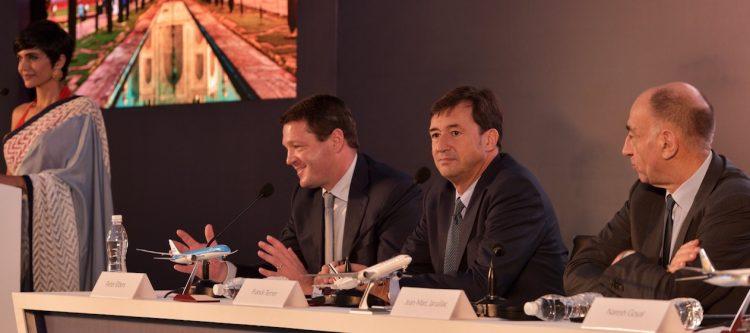 Baanbrekende joint-venture Air France-KLM en Jet Airways