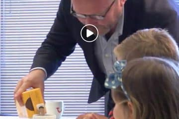 Video - Must see: Arjan Kers (CEO TUI Nederland) in gesprek met kinderen