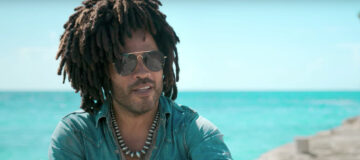 Lenny Kravitz met 'Fly Away' in promotiecampagne Bahama's