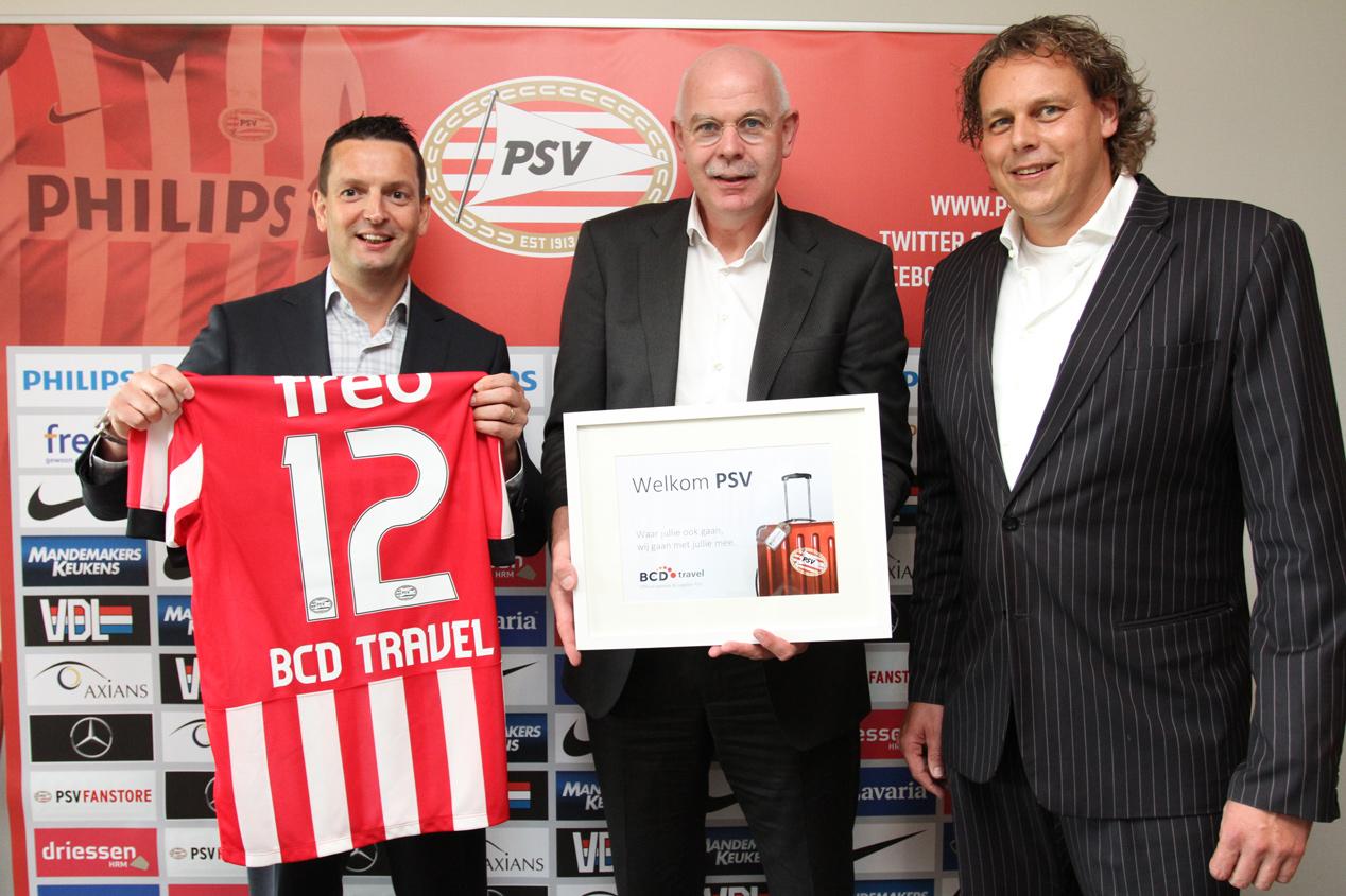 PSV kiest BCD Travel als officiële zakenreispartner
