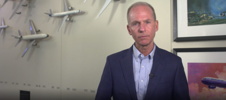 CEO Dennis Muilenburg over situatie bij Boeing...