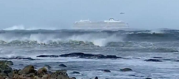 Video - Cruiseschip in nood bij Noorwegen: evacuatie 1.300 mensen