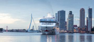 Meer cruiseschepen dan ooit in Rotterdam