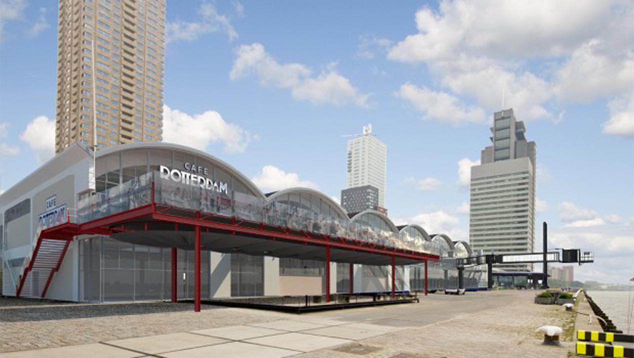 Groeiplannen Cruise Terminal Rotterdam