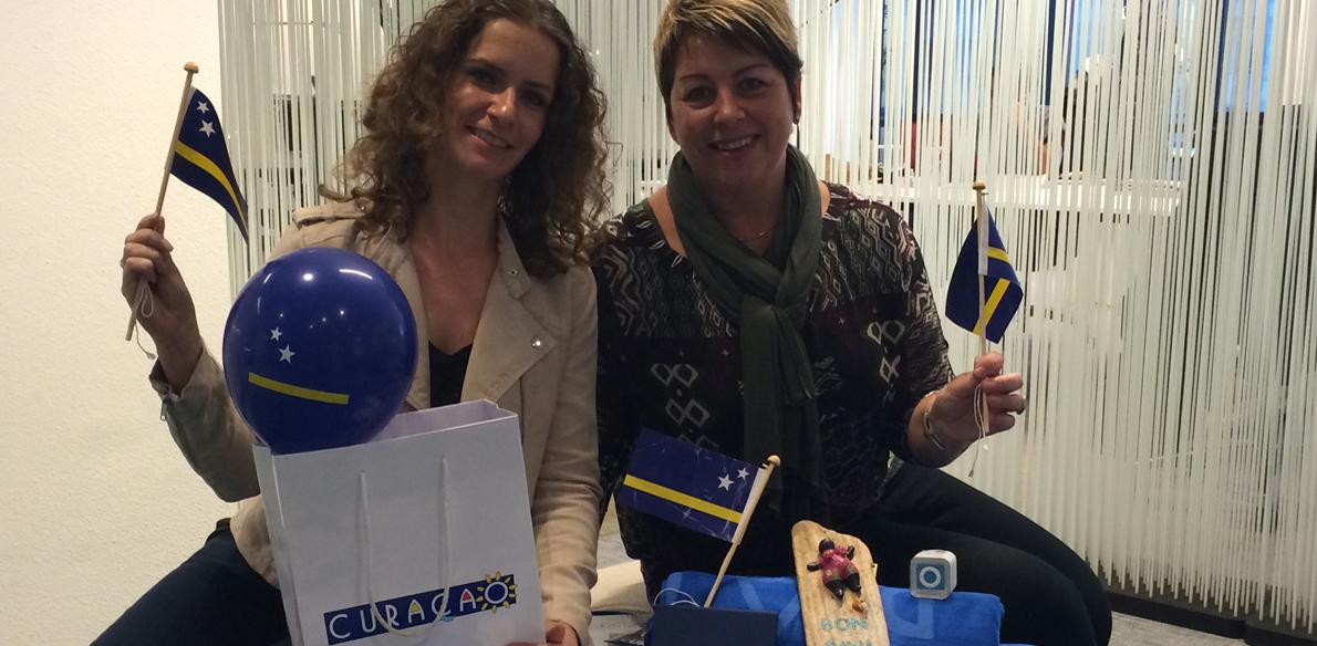 Diana Romijn winnares Roadshow Curaçao