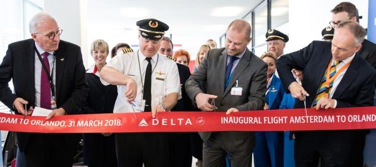 Delta Air Lines van start met directe vlucht Schiphol - Orlando