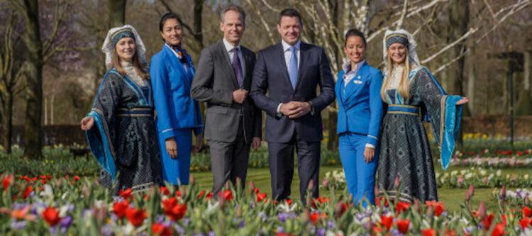 Pieter Elbers (CEO KLM) opent 70e editie Keukenhof