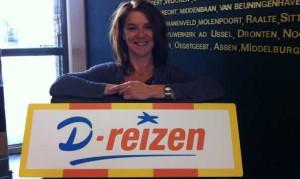 Eugenie Engelbracht bij D-reizen aan de slag als communicatiespecialist