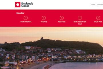 England's Coast: nieuwe online training voor reisagenten