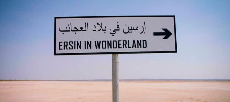 'Ersin in wonderland' naar Tunesië