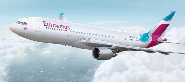 Dit zijn de nieuwe bestemmingen van Eurowings...