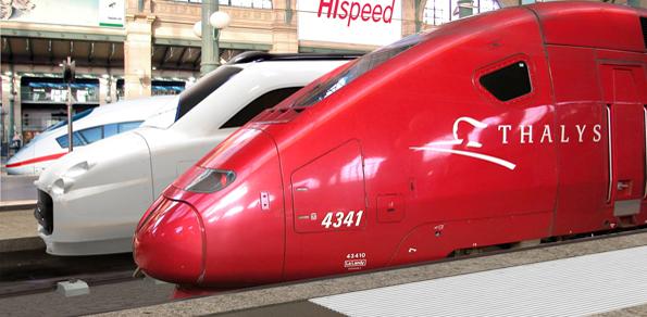 Reizigers Fyra omgeboekt naar Thalys