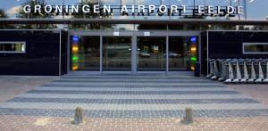 Bom legt vliegverkeer Groningen plat