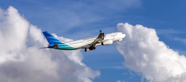 Garuda Indonesia: óók vroeger vertrek in het winterseizoen