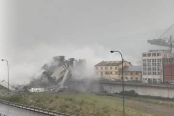 Doden na instorten snelwegbrug Genua